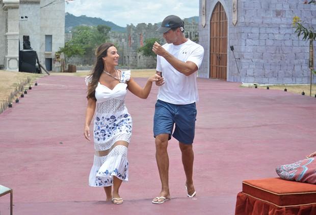 Nicole Bahls e Victor Fasano (Foto: Felipe Souto Maior/ Divulgação)