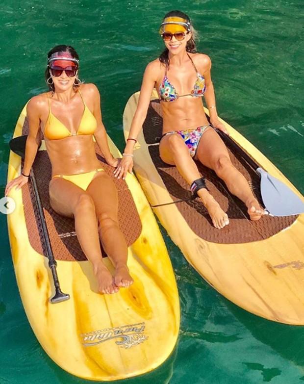 Vera Viel e Daniela Albuquerque (Foto: Reprodução/Instagram)