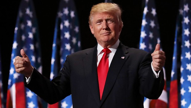 Donald Trump, candidato republicano à presidência dos EUA (Foto: Getty Images)