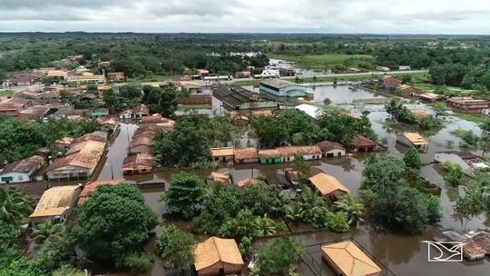 Mais de 3700 pessoas estão desabrigadas pela cheia de dois rios no MA