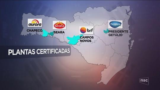 Quatro frigoríficos de SC recebem autorização para exportar carne suína para Coreia do Sul