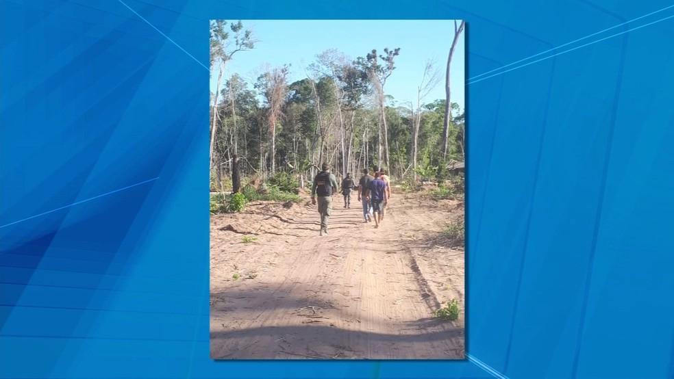 Ação foi realizada entre os municípios de Cláudia e Nova Santa Helena (Foto: TVCA/Reprodução)