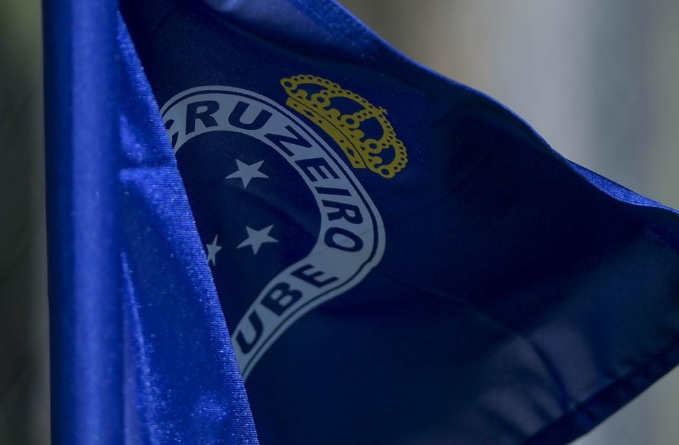 Bandeira do Cruzeiro — Foto: Washington Alves