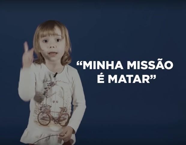 Vídeo com crianças expõe violência no discurso de Jair Bolsonaro (Foto: Reprodução/Youtube)
