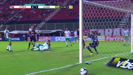 Com centroavantes em baixa, Vitória tenta encerrar jejum de mais de 180 minutos sem gols