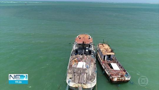Parque dos Naufrágios Artificiais de Pernambuco ganha mais dois navios