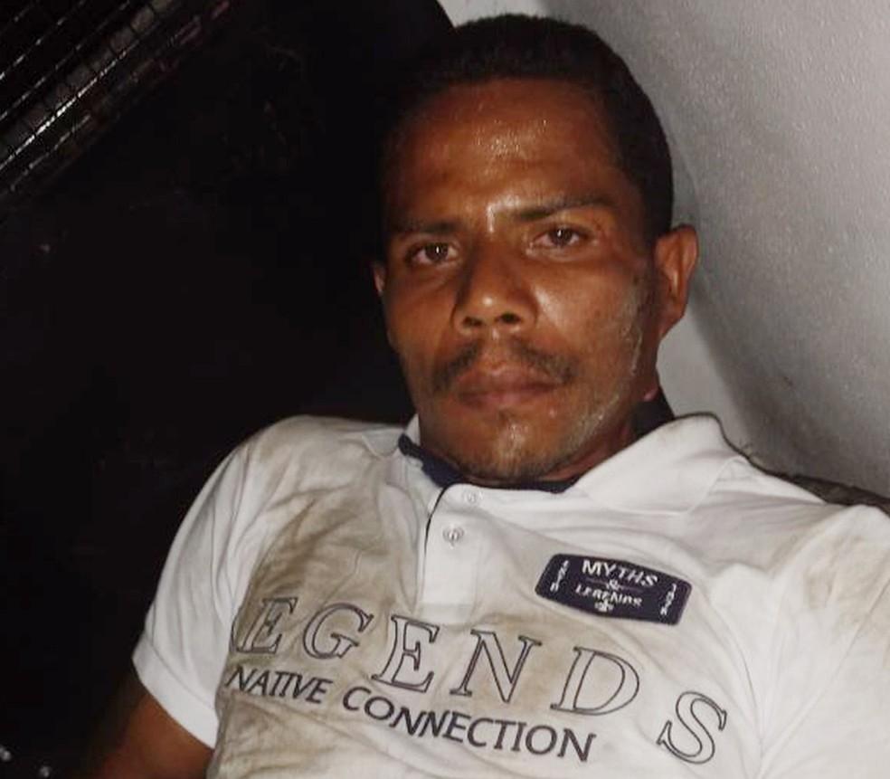 Lucelmo Farias Gomes foi apontado como suspeito de ter assassinado Nilo Vitório a tiros em show na capital maranhense. — Foto: Divulgação/Polícia Civil
