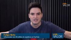 Em 2013, achava que o PT era o pior governo da história do país, diz Felipe Neto