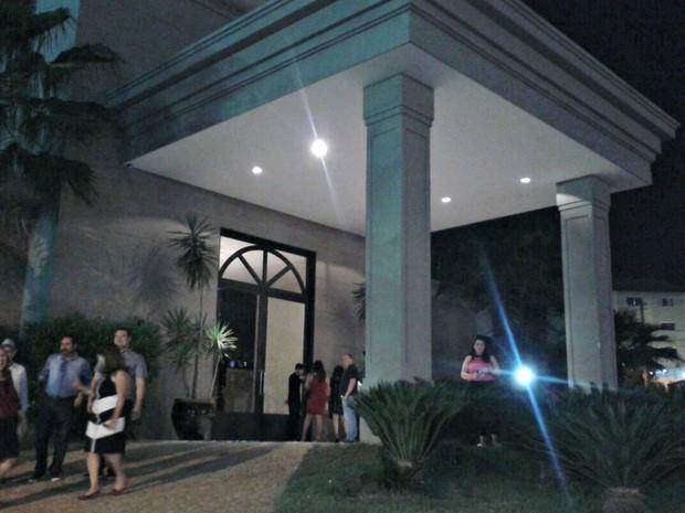 Show da cantora Maria Rita iria ser realizado no Alphaville Buffet, em Cuiabá (Foto: André Souza/G1)