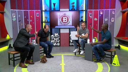 Boleiragem: Roger recebe Muricy Ramalho, PC de Oliveira e Mozer