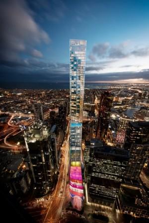 Escritório de arquitetura projeta edifício de 345 m de altura na Austrália (Foto: OMA/Reprodução)
