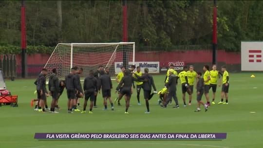 Depois do 5 a 0 na semifinal da Libertadores, Flamengo visita o Grêmio pelo Brasileirão