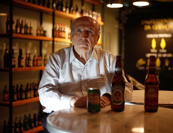 Victorio de Marchi comandou a fusão que originou a Ambev e lança livro de memórias (Foto: Marcos Alves/Agência O Globo)