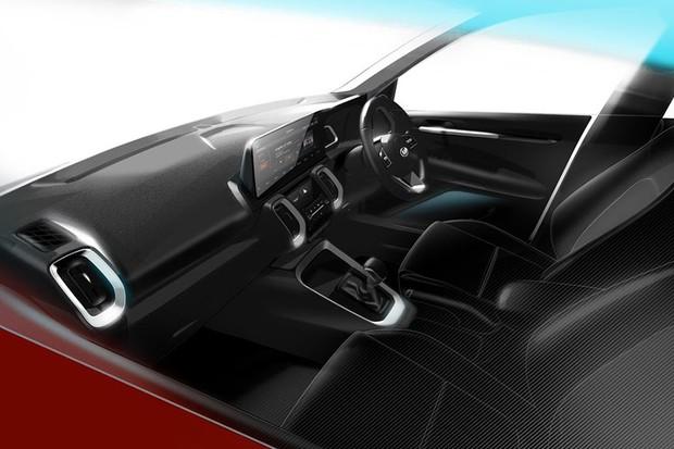Interior do Novo Kia Sonet 2020 lançado na Índia (Foto: Divulgação)