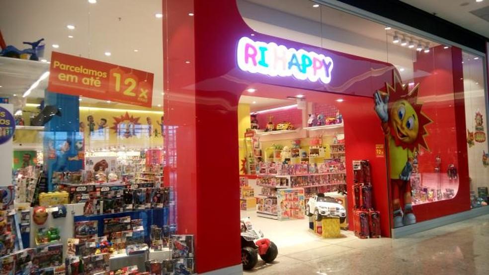58c9ad2b8 ... Loja da Ri Happy no Nações Shopping — Foto: Divulgação/Nações Shopping