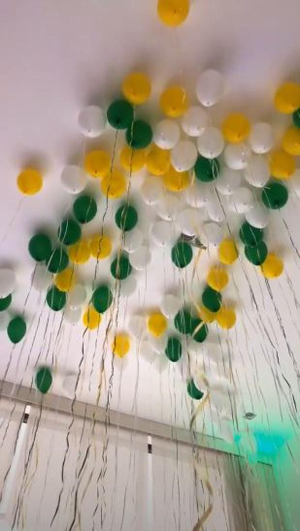 Decoração da festa de aniversário da Camila Queiroz (Foto: Reprodução/Instagram)