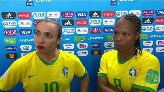 """Formiga quer ir a Tóquio, e Marta sonha com nova Copa: """"Se ela me der o segredo de jogar até os 41"""""""