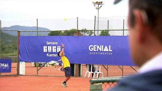 Semana Guga alimenta sonho de novas gerações do tênis brasileiro
