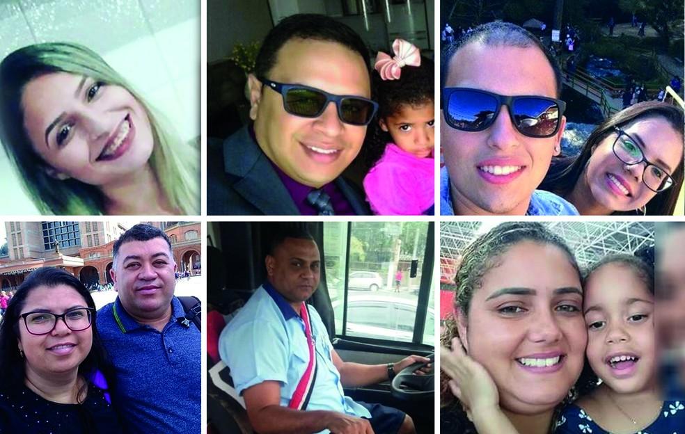 Dez morreram no acidente na serra da SP-123 — Foto: Hellen Souza/Arte G1