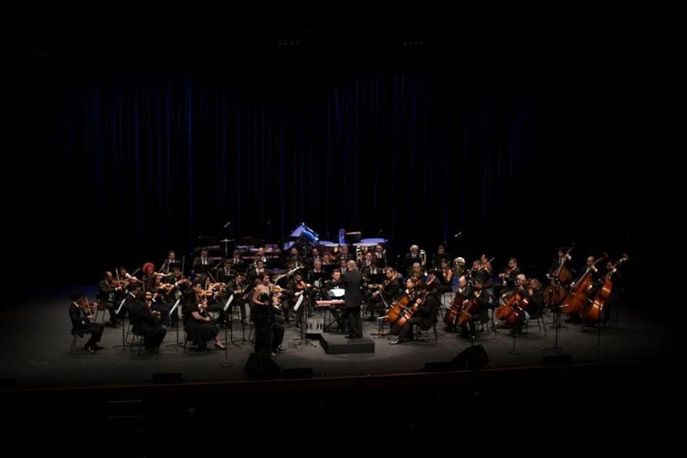 Orquestra Sinfônica do RN se apresenta no Teatro Riachuelo  (Foto: Divulgação)