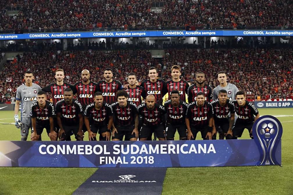 5bc56b80814 ... Atlético-PR foi campeão da Copa Sul-Americana 2018 — Foto: Albari Rosa
