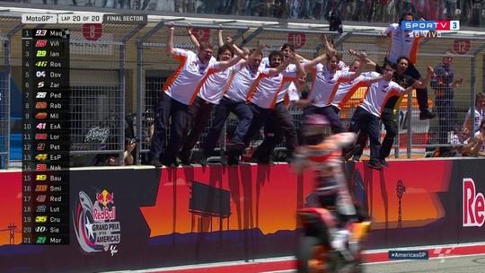 Espanhol Marc Marquez vence a etapa de Austin da MotoGP