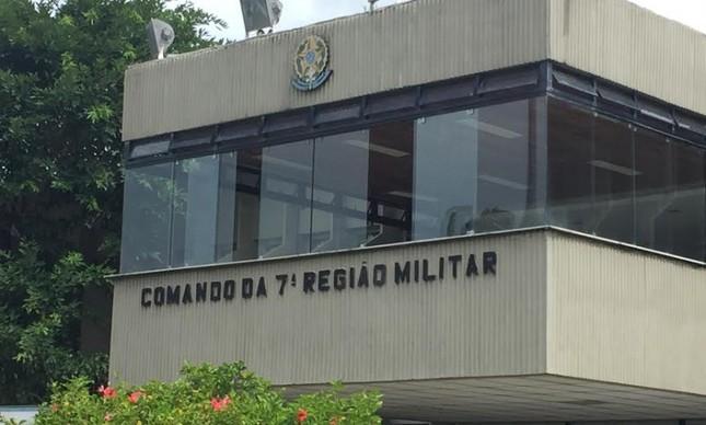 Prédio da 7ª Região Militar do Exército