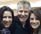 Miguel Falabella, Alessandra Verney e Alessandra Maestrini  | Divulgação