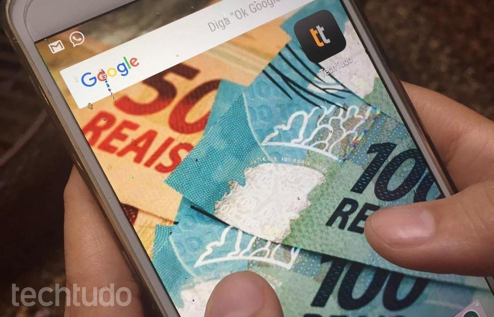 Pagamentos no WhatsApp e transferências de dinheiro entre usuários poderão ser feitas através de cartões de crédito e débito — Foto: Tainah Tavares/TechTudo