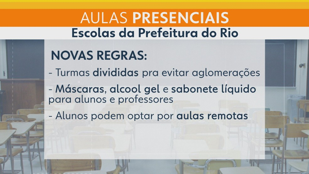 Regras que devem ser cumpridas — Foto: Reprodução/TV Globo