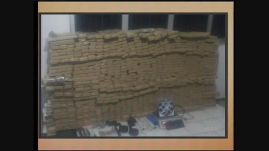 Polícia Militar prende homem e apreende 638 kg de maconha em Imbituba