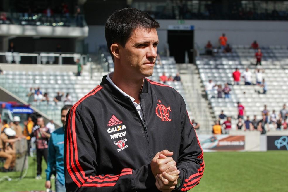 Barbieri busca ajustes para que o Flamengo oscile menos no segundo turno do Brasileirão (Foto: CARLA LARINI/O FOTOGRÁFICO/ESTADÃO CONTEÚDO)