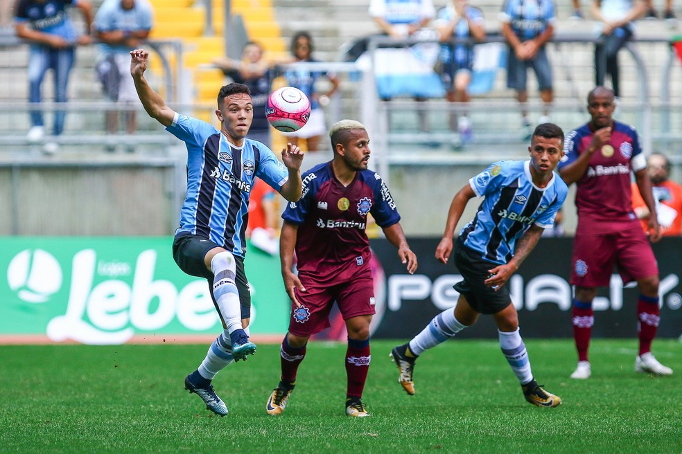Grêmio x Caxias na Arena  (Foto: Lucas Uebel / Grêmio, DVG)