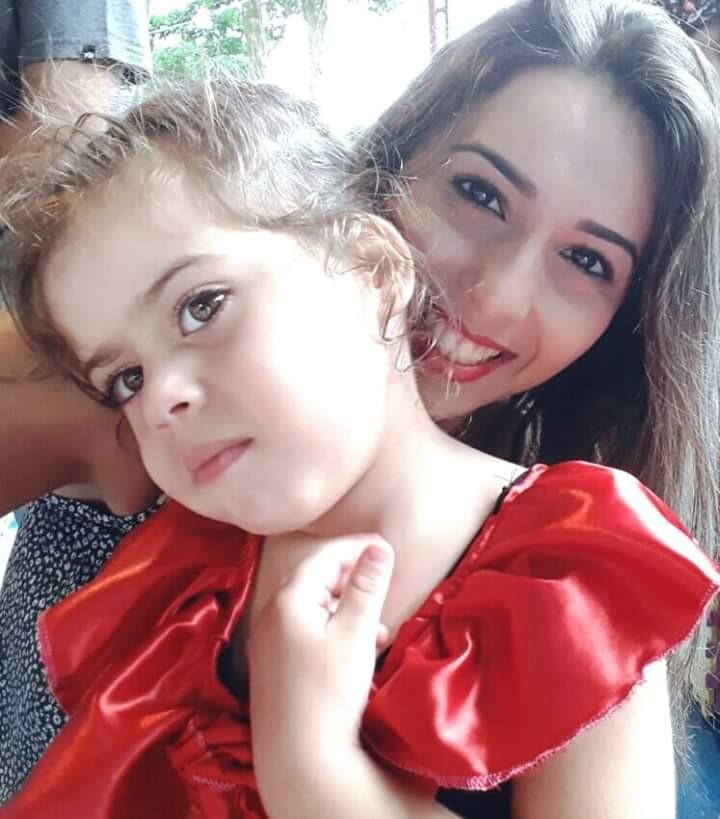 Lilian com a filha, Marília (Foto: Arquivo Pessoal)