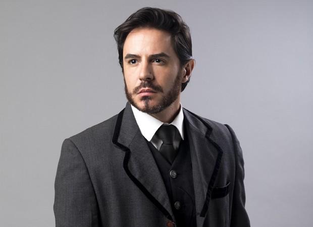 Ricardo Tozzi interpreta o mau caráter Xavier em Orgulho e Paixão (Foto: João Miguel Júnior/TV Globo)