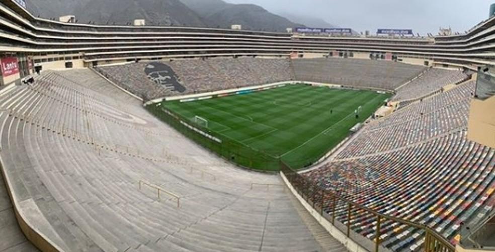 Estádio Monumental de Lima, palco da final da Libertadores 2019 — Foto: Reprodução/Instagram