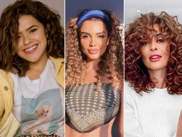 Maísa, Juliana Paes e Paula Amorim dão dicas para transição capilar - Quem    QUEM Inspira