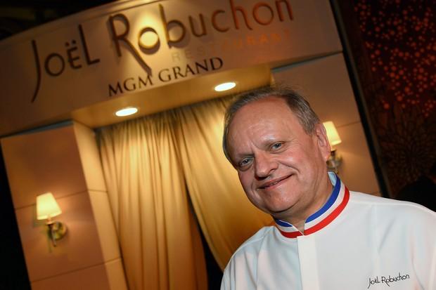 O chef francês Joël Robuchon  (Foto: Getty Images/ Ethan Miller)