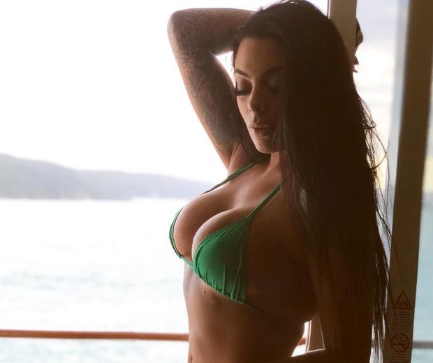 Monique Amin (Foto: Reprodução Instagram)