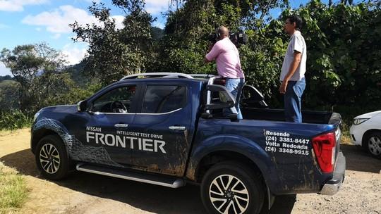 Revista passeia pela região com a Frontier, carro de test drive cedido pela Oca Nissan Veículos