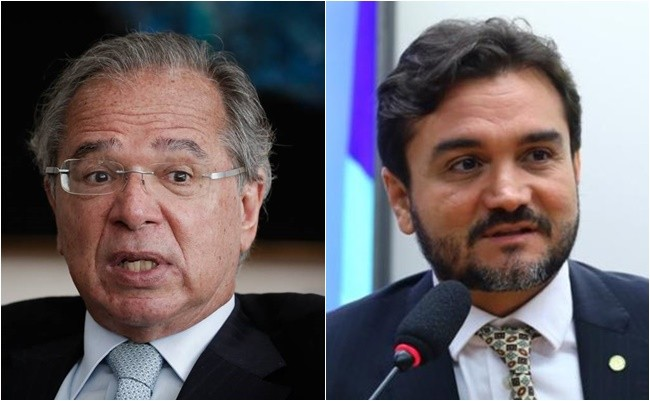 Paulo Guedes e Celso Sabino