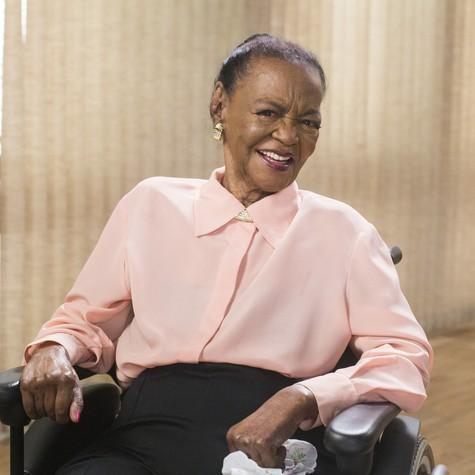 Ruth de Souza (Foto: Marília Cabral/TV Globo)