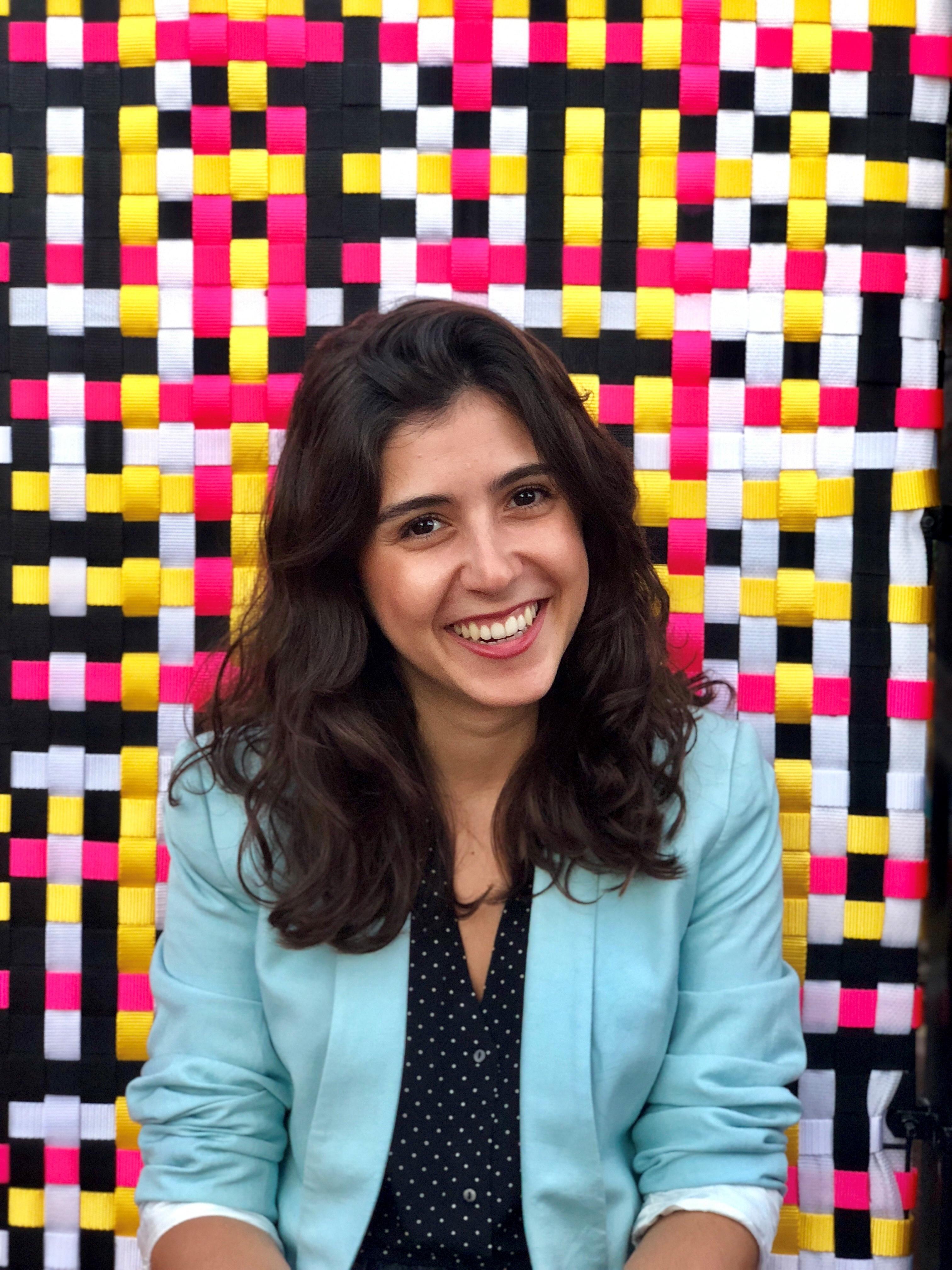 A repórter Marília Marasciulo (Foto: Acervo Pessoal)