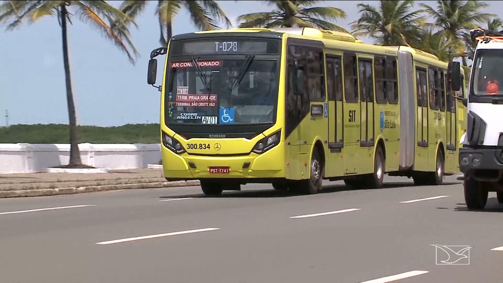 Justiça determina que 90% da frota de ônibus deve circular em São Luís
