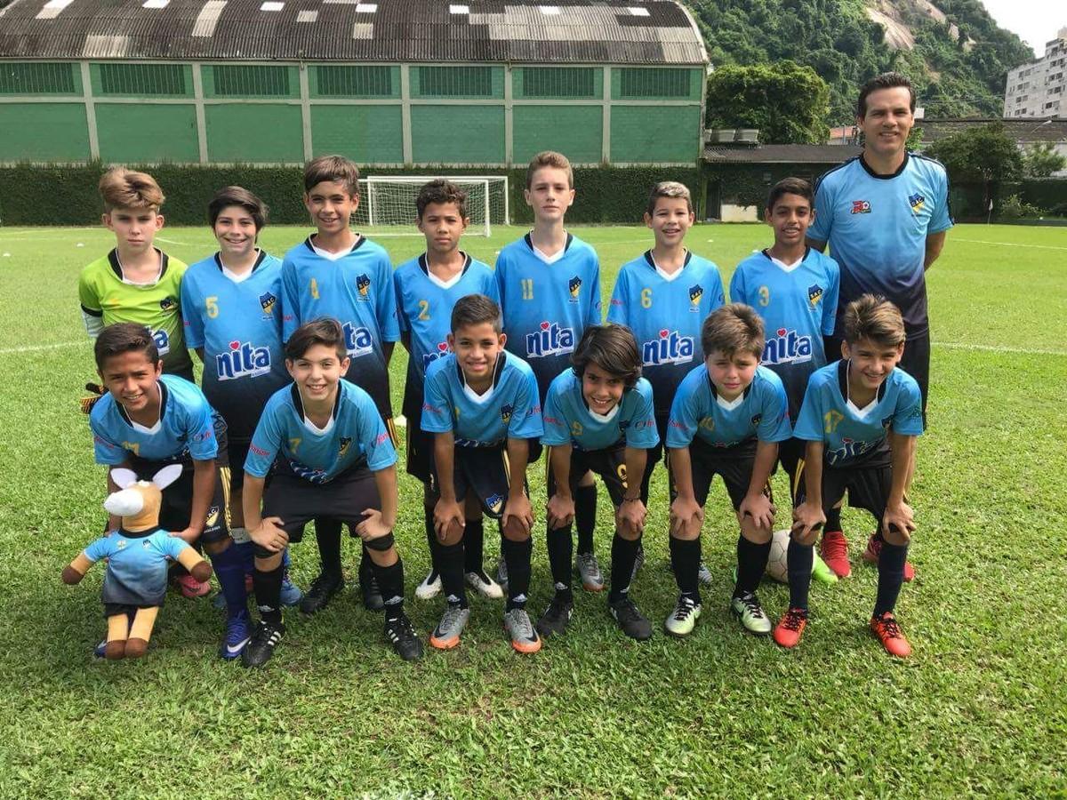64294efe4c Equipe de Santos disputa torneio internacional de futebol infantil em Goiás