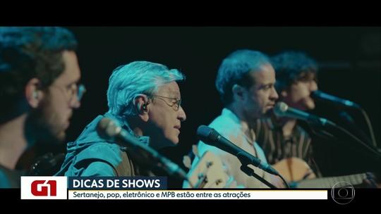 Simple Plan, Caetano Veloso e Maiara & Maraisa estão na agenda de shows em São Paulo; G1 comenta em VÍDEO