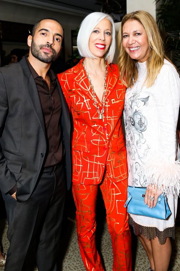 Daniel Urzedo, Linda Fargo, Donata Meirelles (Foto: Samantha Deitch/BFA.com)