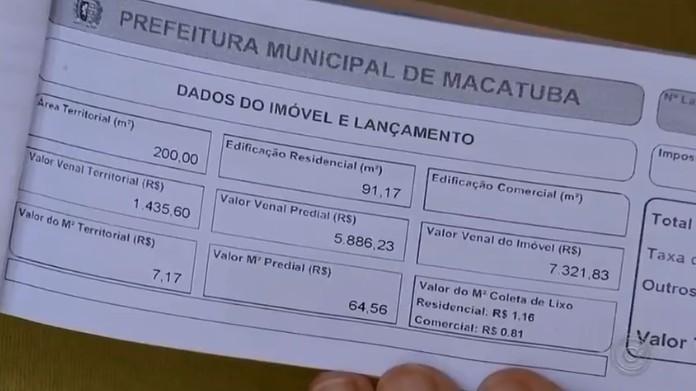 Justiça manda prefeitura de Macatuba devolver IPTU cobrado com reajuste irregular em 2019