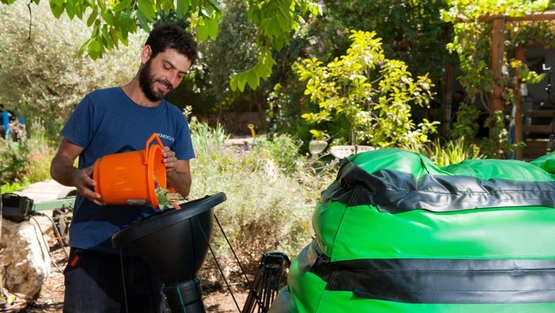 homebiogas-lixoorgânico-reciclagem-energia-sustentabilidade (Foto: Divulgação/HomeBiogas)