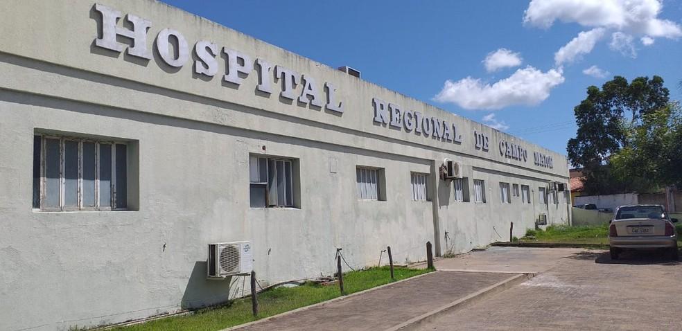 Hospital Regional de Campo Maior — Foto: Gilcelene Araújo/G1